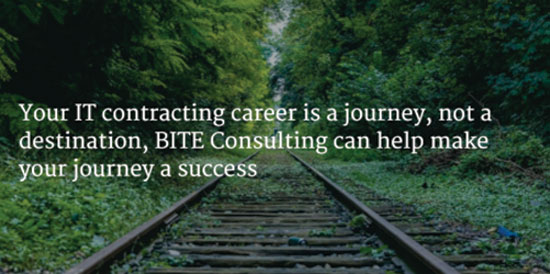 Your IT contracting career is a journey, not a destination, BITE consulting can help your journey a success